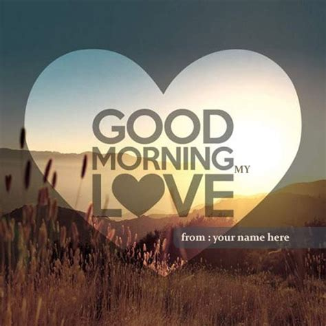 good morning  love  picture