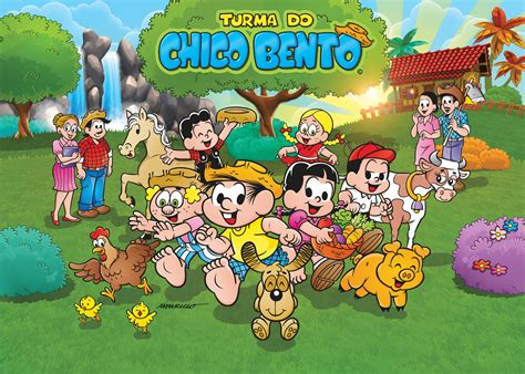 Turma do Chico Bento - Personagens - Select Game