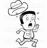 Away Running Clipart Screaming Cowboy Hat Western Run Drawing Scared Clip Vector While Losing Cliparts Getdrawings Clipartmag Library Clipground sketch template