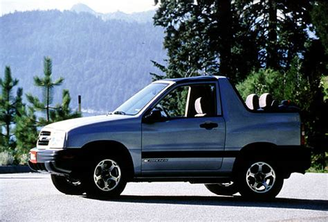 chevrolet tracker chevy picturesphotos gallery
