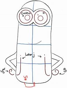 How to Draw Kevin from The Minions Movie 2015 in Easy ...