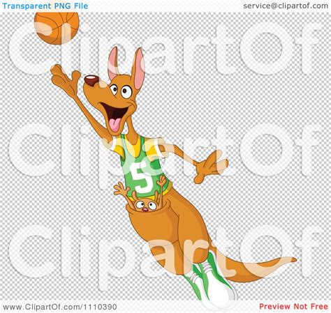 Clipart Playing Basketball