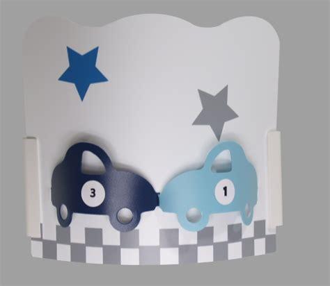suspension chambre bébé garçon applique chambre garon auto gris bleu fabrique casse