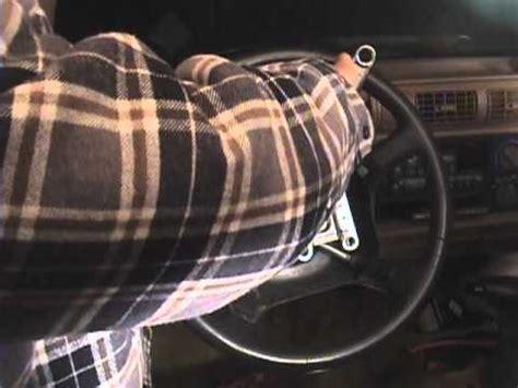 airbag deployment 2002 chevrolet astro free book repair manuals 1997 blazer steering wheel airbag removal youtube