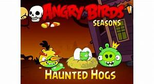 Angry birds seasons for ios gets update with 30 new for Angry birds seasons updated for halloween 30 all new levels