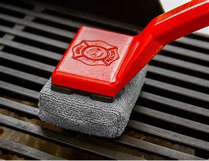 Grill Brush Cleaning Steam Rescue Clean Smarter