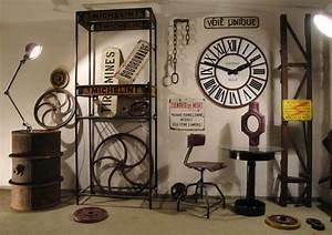 Objet Deco Style Industriel : natacha fait sa d co tendance d co style industriel ~ Melissatoandfro.com Idées de Décoration