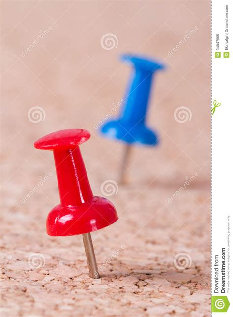 push pins royalty  stock photo image
