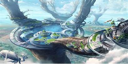 Future Cyberpunk Solarpunk Why Need Illustration Keen