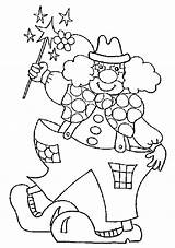 Coloring Jester Pages Getcolorings Carnival sketch template