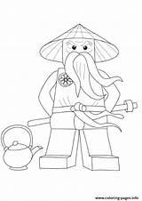 Jason Coloring Ninjago Pages Wu Sensei Voorhees Garmadon Lego Lord Mask Printable Colouring Koro Getcolorings Prints Getdrawings Dessin Depuis Enregistree sketch template
