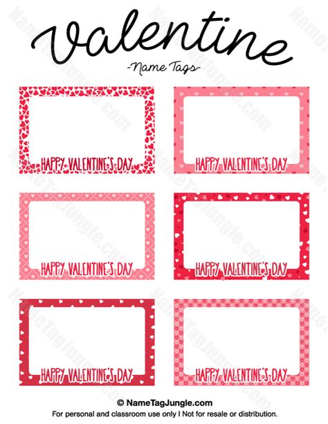 Valentine Day's Poems Template