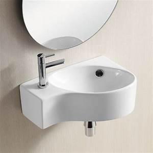 Kleine Waschbecken Für Gäste Wc : waschtisch waschbecken g ste wc keramik wandmontage aufsatzwaschbecken 4503a ebay ~ Watch28wear.com Haus und Dekorationen