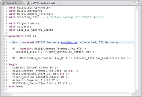 Gnatbench For Eclipse User's