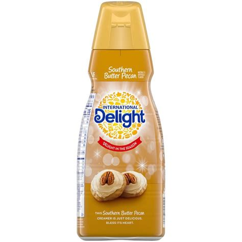 Proud member of the danone family. International Delight Southern Butter Pecan Coffee Creamer (32 oz) from Mariano's - Instacart