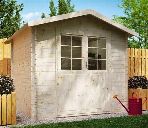 luoman gartenhaus 187 lillevilla 9 171 bxt 270x243 cm inkl aufbau und fu 223 boden kaufen otto