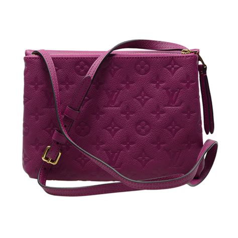 louis vuitton   crossbody bag monogram empreinte leather