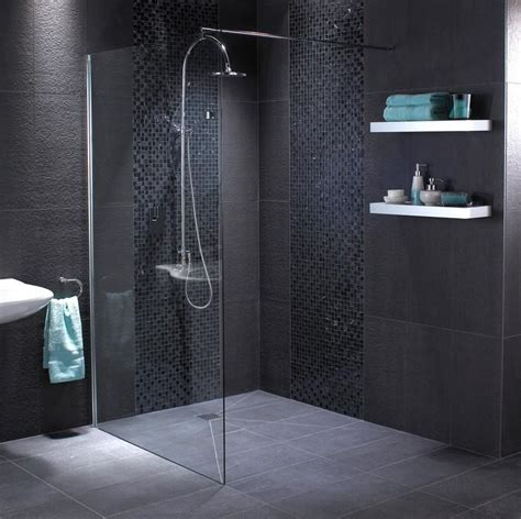 Black Bathroom Floor Tiles by 10 Gorgeous Bathrooms With Black Tile