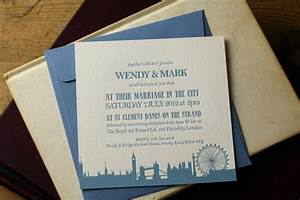 london theme wedding invitations images frompo 1 With wedding invitation printers north london