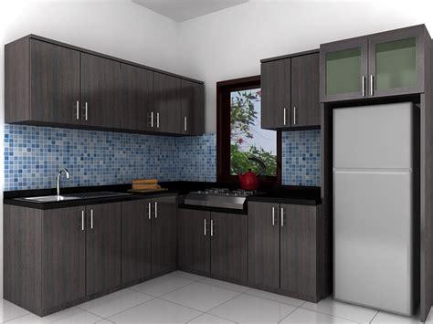 design kitchen set gambar dapur minimalis ukuran 3x3 modern 2018 lensarumah 3192