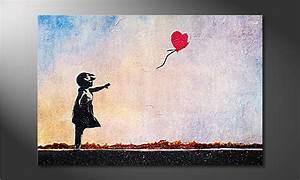 Toile Street Art : la toile imprim e banksy no14 tableaux xxl ~ Teatrodelosmanantiales.com Idées de Décoration