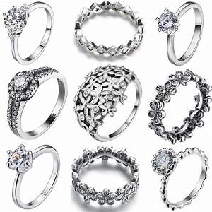 size 6 9 fashion women jewelry 925 silver sterling ring With sterling silver wedding rings for women