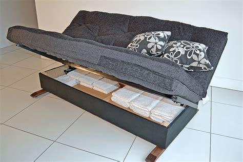 futon with drawers underneath sofa storage sofa storage using repurposed
