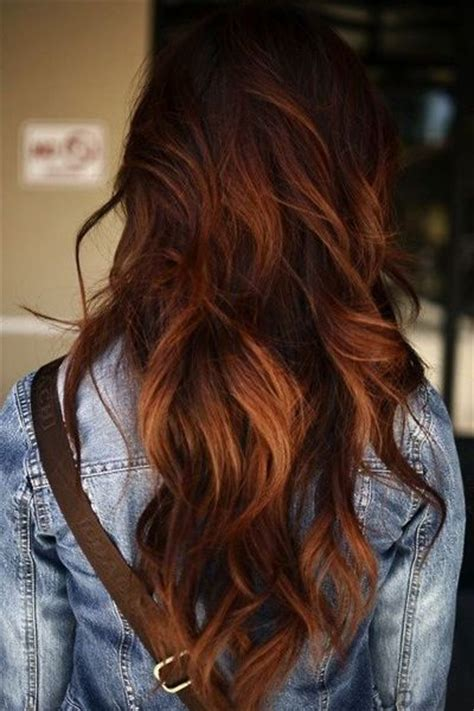 omber hair styles 30 brown ombre hair ideas hairstyles update 9415