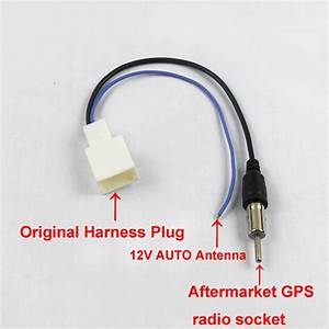 Radio Fm Antenna Aerial Harness Cable For Toyota Camry