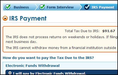 find    irs payments   installment