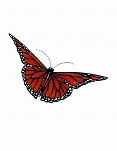 Simple Monarch Butterfly Tattoo | Free Design Ideas ...