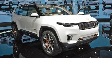 Jeep Grand Future Models by 2018 Jeep Commander The Production Version Of The Jeep