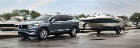 Fit Towing Capacity by How Much Can The 2018 Buick Enclave Tow And Fit Inside