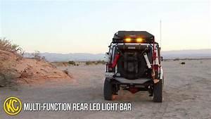 Kc Led Light Bar Kc Hilites 28 Quot Multi Function Rear Led Light Bar On Jeep