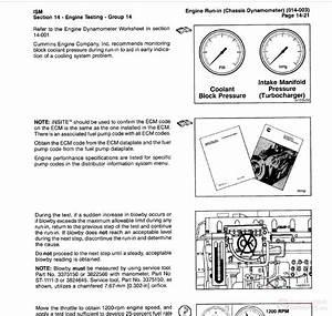 Cummins Ism Qsm11 Series Diesel Engine Troubleshooting And