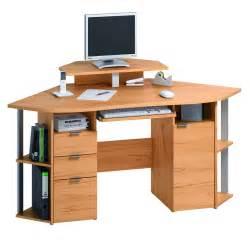 contemporary corner desk to maximize space usage