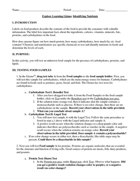 12 Best Images Of Vitamin And Minerals Worksheet Answers  Mineral Properties Worksheet