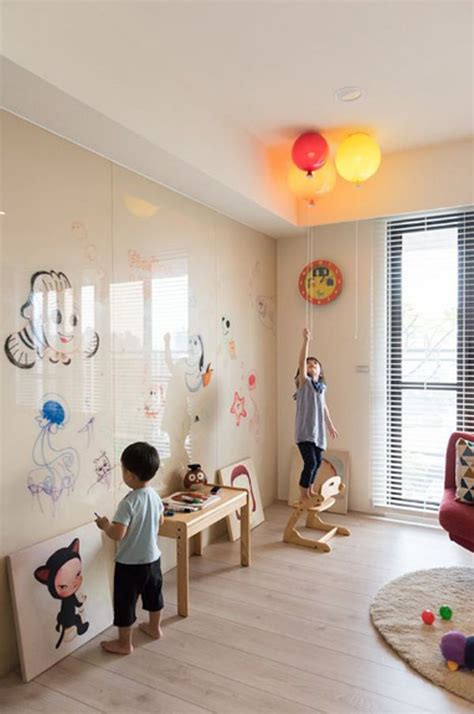 interactive wall ideas  kid spaces kid spaces