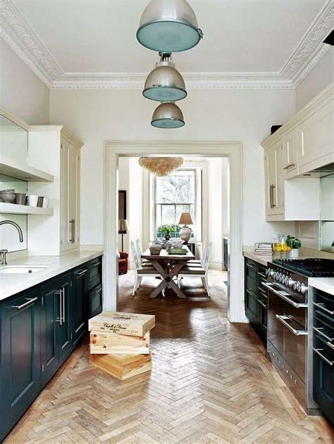 cuisine en longueur ouverte comment aménager une cuisine en longueur