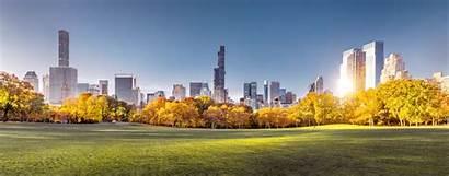 Park Central Skyline Resolution Nyc Sunrise Morning