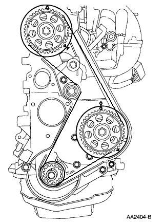 Ford Ranger Timing Diagram by Want A Diagram That Show A 1999 Ford Ranger Xl 2 5 Timing Belt