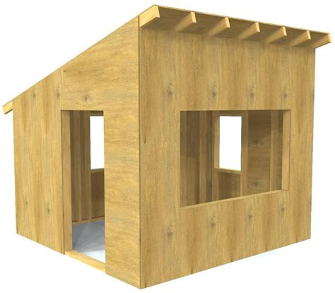 Made from solid nz (fsc) pine the castle features an octagonal. 12 Free Outdoor Playhouse Plans for Kids | PDF Downloads - Paul's Playhouses