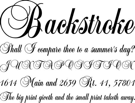 The Gallery For --> Calligraphy Fonts A Z
