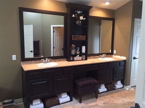 hometalk master bath redo  general finishes wood stain