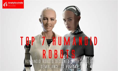 7 Humanoid Robots Designed With Closest Semblance To Humans