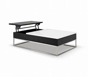 dreamfurniturecom p209a modern white coffee table With coffee table with pull out tray