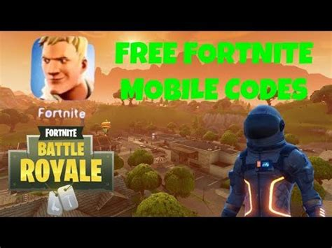 fortnite mobile  codes  clickbait youtube