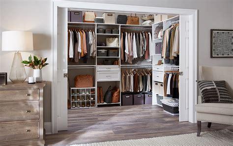 Large Walk In Closet Organization Ideas by Walk In Closet Ideas The Home Depot