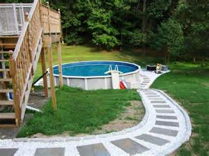 above ground pool deck plans pictures to pin on pinsdaddy