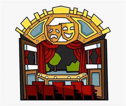 Clipart Theatre Theater Scribblenauts Clipartkey